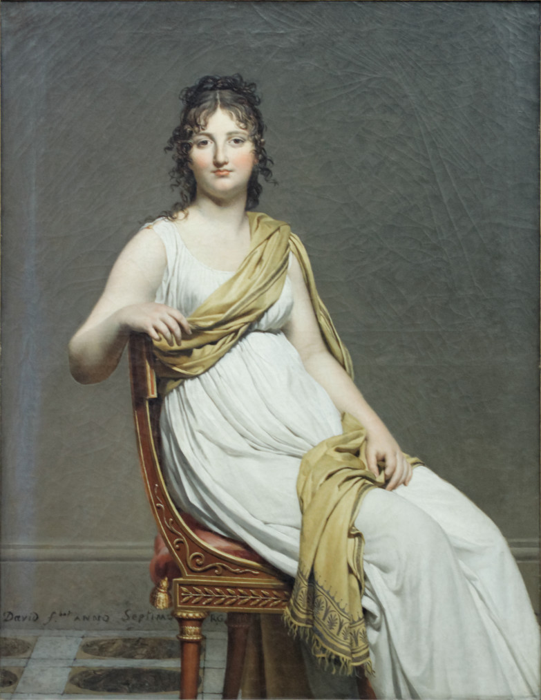 NEOKLASYCYZM Obraz Jacques'a Louis Davida - koniec XVIII w.