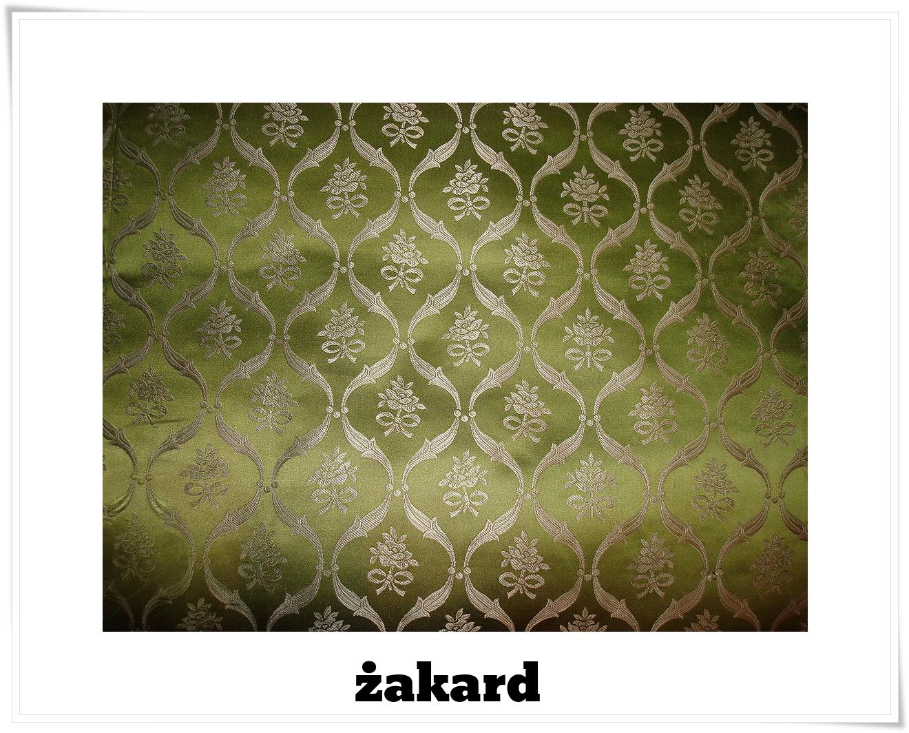 żakard - Szwedzka tapicerka jedwabna fot Kerstin Wölling