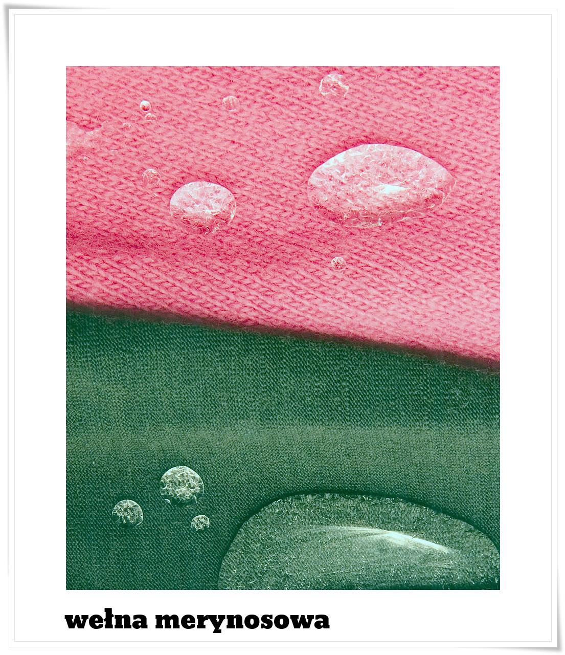 materiały z wełny merynosowej fot David McClenaghan