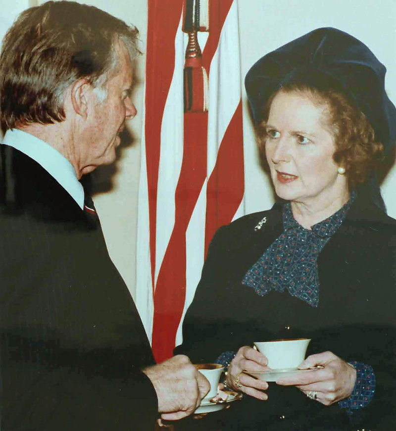 800px-Margaret_Thatcher_visiting_Jimmy_Carter