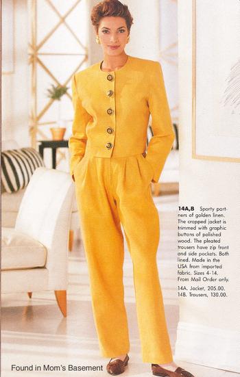 16 – pantsuit z początku lat 90.