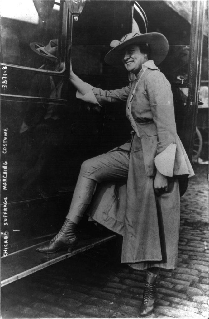 2 – sufrażystka z Chicago, 1916 rok