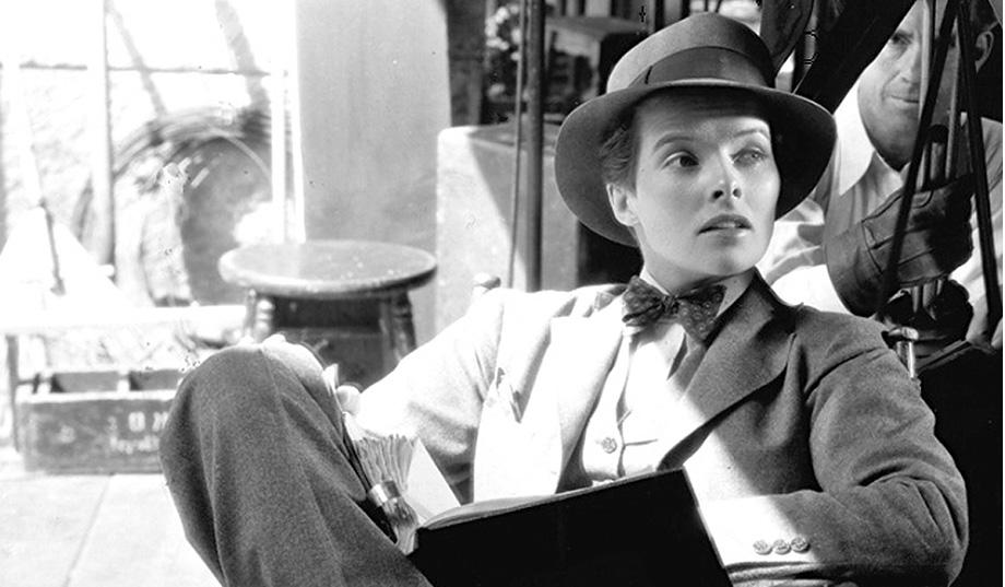 6 – Katharine Hepburn w filmie Sylvia Scarlett z 1935 roku