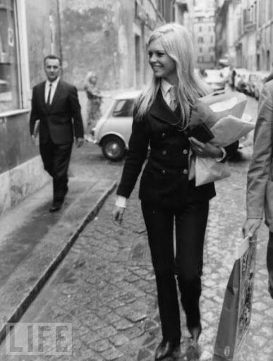 9 – Brigitte Bardot, lata 60.